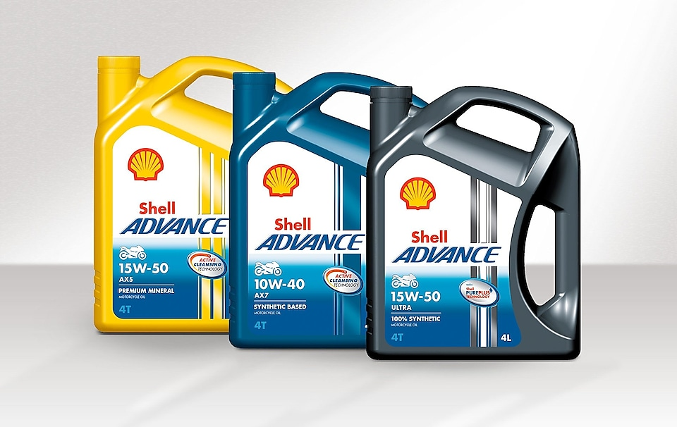 Shell Advance packshots