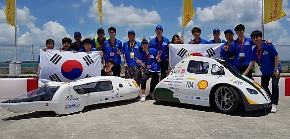 Shell eco-marathon cars